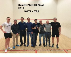 County Play-Off Final 2019 TR3 v NQY2